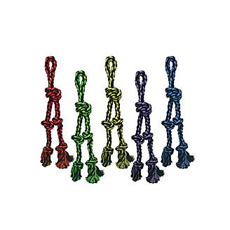 Nuts for Knots Tug w/ Danglers Rope Dog Toy