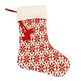 Hugglehounds Holiday Snowflake Dog Stocking