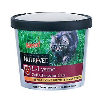 Nutri Vet L-Lysine Soft Chews for Cats