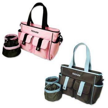 Designer Travel Bag Set 16 X 11 1 2 6 Pink Brown