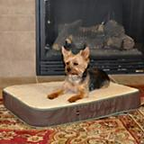 KH Mfg Memory Foam Sleeper Mocha Dog Bed Large
