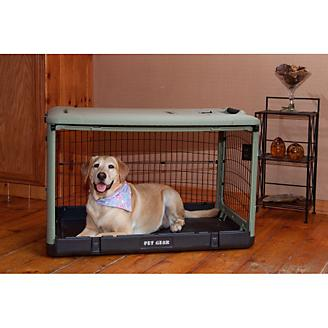 The Other Door Steel Dog Crate w/Pad