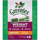 Greenies Weight Management Dental Chew - Petite