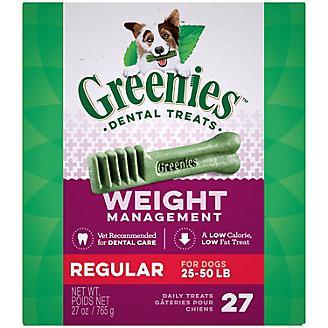 Greenies Weight Management Dental Chew Regular