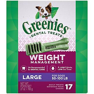 Greenies Weight Management Dental Chew Large