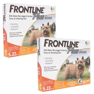 Frontline Plus for Dogs 12 Month Supply 5-22lbs  - 1800PetSupplies com