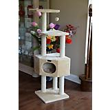 Armarkat Classic Cat Tree 53 in Beige   in Beige