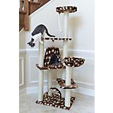 66 Inch Cat Paw Print Jungle Gym