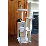 53 Inch Cat Tree House with Sisal