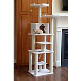 Armarkat Deluxe Cat Tree 78in Ivory