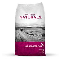 Image of Diamond Naturals Large Breed Dry Puppy Food 40lb