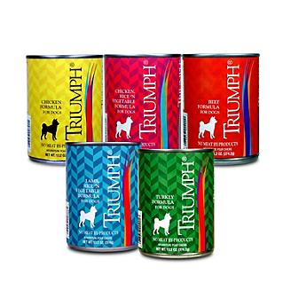 Triumph Canned Dog Food Case