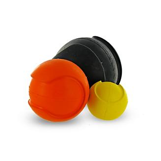 iSqueak Bouncin Baseball Dog Toy