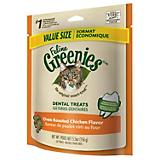 Feline Greenies Dental Treat 6 oz