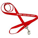 Personalized Nylon Dog Lead