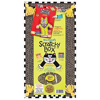 Kitty Hoots Big Mamas Scratchy Box Double Wide