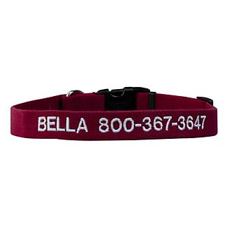 Personalized Soy Dog Collar