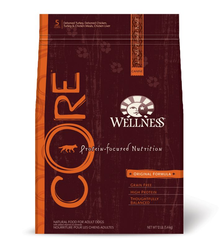 Wellness CORE Original Formula Dry Dog Food 26lb
