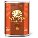 Wellness Senior Recipe Canned Dog Food Case