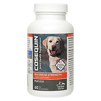 Cosequin Max Strength Plus MSM Chew Tabs
