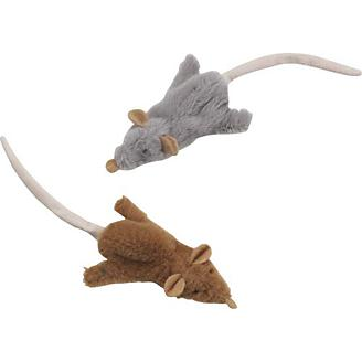 Skinneeez Mouse Cat Toy 3 pack