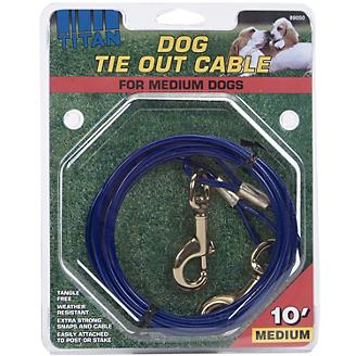 Titan Medium Cable Dog Tie Out