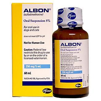 Albon Oral Suspension