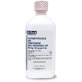 SMZ-TMP Oral Suspension 240mg 16oz