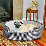 KH Mfg Self-Warming Cozy Sleeper Gray Dog Bed