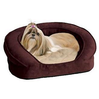 KH Mfg Deluxe Ortho Sleeper Eggplant Dog Bed