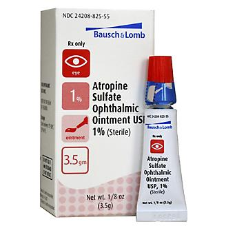 Atropine Ophthalmic Ointment 3.5gm