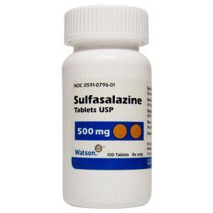 Azulfidine Sulfasalazine Cost