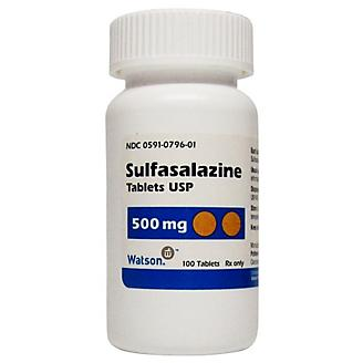 Sulfasalazine Tablets 500mg