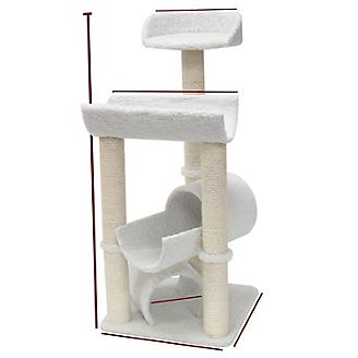 Majestic 44 Inch Bungalow Cat Furniture Tree