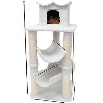 Majestic 47 Inch Bungalow Cat Furniture Tree