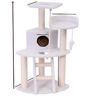 Majestic 48 Inch Bungalow Cat Furniture Tree