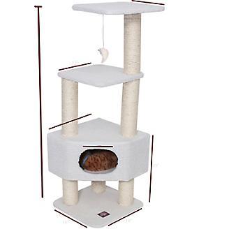 Majestic 52 Inch Bungalow Cat Furniture Tree