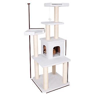 Majestic 64 inch Bungalow Cat Furniture Tree