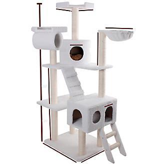Majestic 73 Inch Bungalow Cat Furniture Tree
