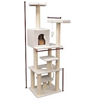 Majestic 78 Inch Bungalow Cat Furniture Tree