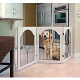 Universal Free Standing Wire Pet Gate