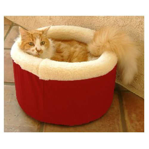 Majestic Cat Cuddler Pet Bed Small Red