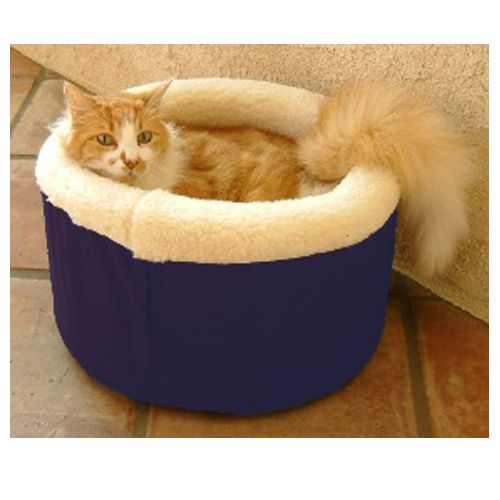 Majestic Cat Cuddler Pet Bed Small Blue