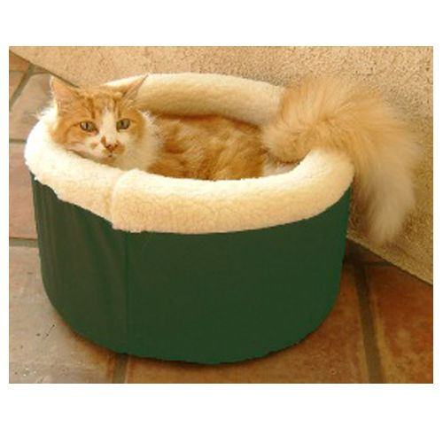Majestic Cat Cuddler Pet Bed Small Green