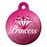 Diamond Princess Pet ID Tag