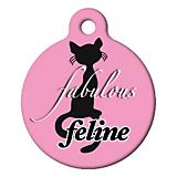 Fabulous Feline Cat ID Tag