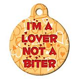Im a Lover Pet ID Tag