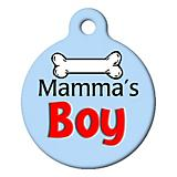 Mamas Boy Pet ID Tag
