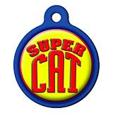 Super Cat Cat ID Tag