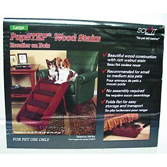 Solvit PupSTEP Wood Stairs Pet Steps